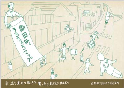 御田町うろちょろマップ