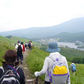 八ヶ岳山麓スーパートレイルを歩く