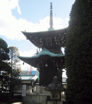 蚕霊供養塔(照光寺)