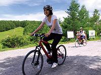 気軽に楽しむ高原サイクリング