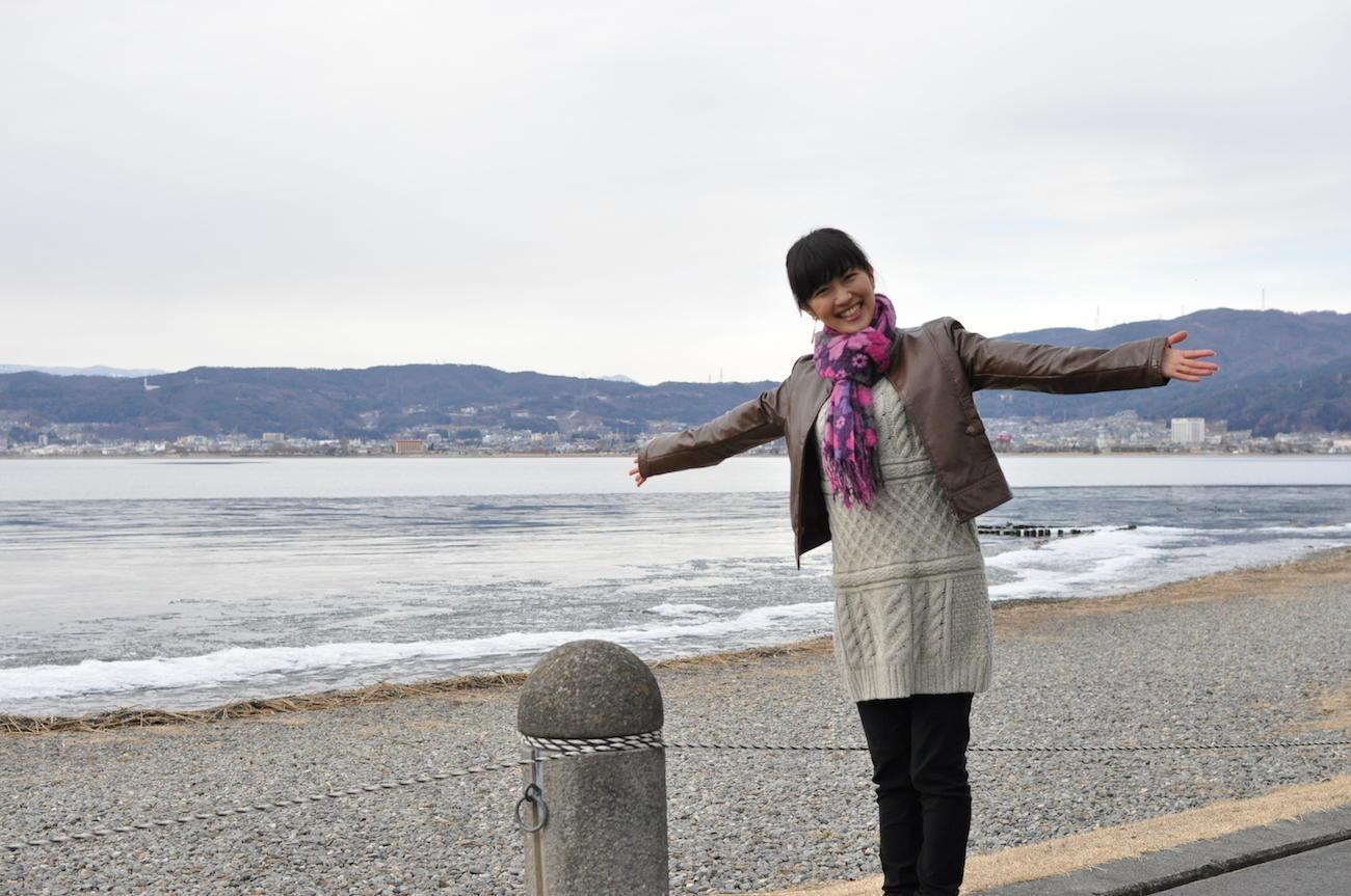 冬の神秘を楽しむ<br>「諏訪湖」